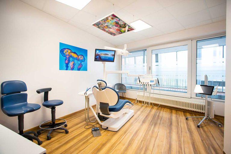 Behandlungsraum für Zahnmedizin in Linz